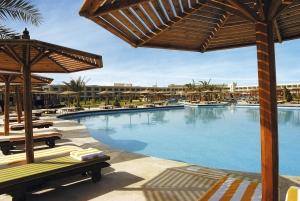 Poolområde på Hilon Long Beach i Hurtghada